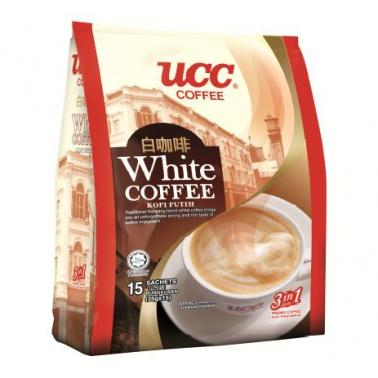 UCC袋装三合一白咖啡