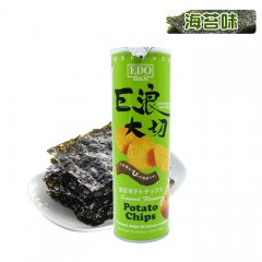 马来西亚 EDOPACK 巨浪大切薯片(紫菜味)