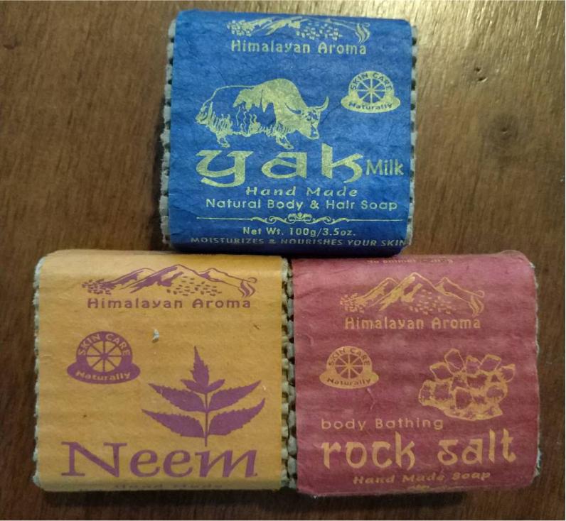 尼泊尔100克巴帝羅天然手工皂